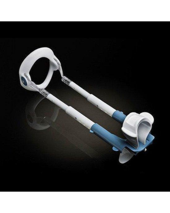 Экстендер для увеличения члена Male Edge Basic, ремешковый, вес всего 65гр, прочный пластик