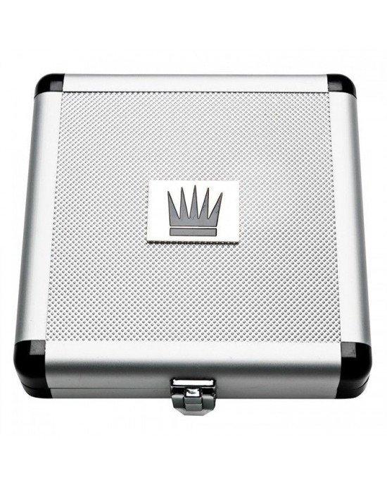 Экстендер для увеличения члена Jes-Extender Titanium, ремешковый, алюминиевый кейс